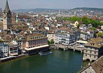 Behind Zurich's financial facade exists a pulsating nightlife